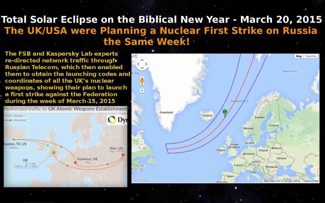 Solar Eclipse Warns of Nuclear War